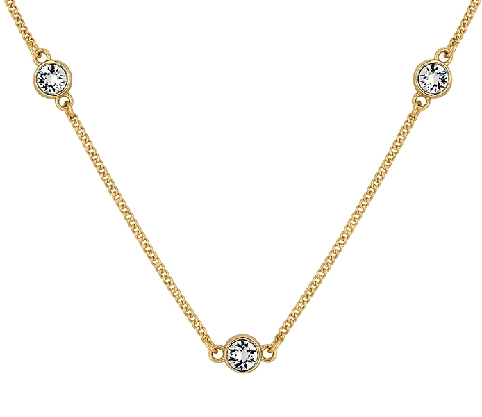 Dew Drop Necklace in Gold Plate