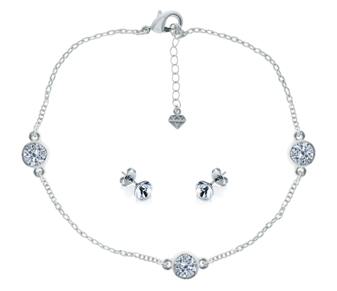 Trio Anklet and Solo Studs